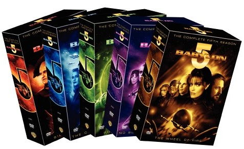 сериал Вавилон5 (Babylon-5) DVD
