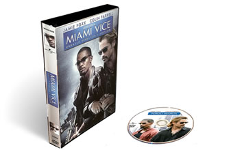 сериал Полиция Майами (Miami Vice) DVD