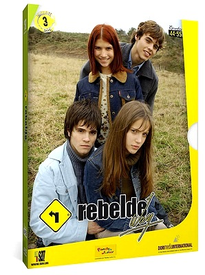 сериал Мятежный Дух (Rebelde Way) DVD