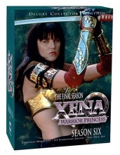 сериал Зена - Королева Воинов (Xena - Warrior Princess) DVD